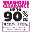 Warehouse Clearance Big Brand Cosmetics Sale