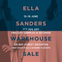 ELLA SANDERS Warehouse Sale
