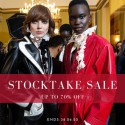 International Designer Stocktake Sale. Up to 70% Off