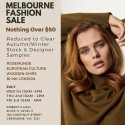 Melbourne Designer Fashion Sale