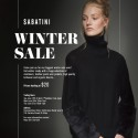 Sabatini Melbourne Winter Sale, Prices From $20