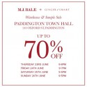 M.J. Bale + Ginger & Smart Warehouse Sale