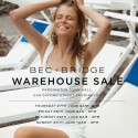Bec + Bridge Sydney Warehouse SALE