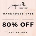 The Papinelle Sleepwear Paddington Warehouse Sale is Back