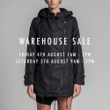 White Suede Melbourne Winter Warehouse Sale
