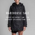 White Suede Melbourne Winter Warehouse Sale