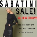 Sabatini Winter Sale