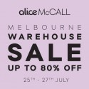 alice McCALL Melbourne Warehouse Sale