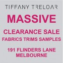 Tiffany Treloar Flinders Lane Re-Location Sale