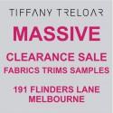 Tiffany Treloar Flinders Lane Re-Location Sale