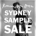 Romance Was Born 2 Day Sydney Sample Sale