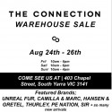 The Connection Warehouse Sale