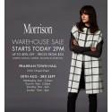 Morrison Melbourne Warehouse Sale