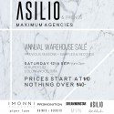 ASILIO & Friends Annual Warehouse Sale