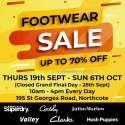 Massive Footwear Sale