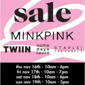 Huge MINKPINK Warehouse Sale