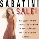 Sabatini Huge Summer Clearance Sale