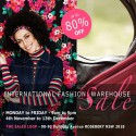 International Designer Fashion Clearance - Sydney