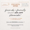 alice McCall Friends + Family Exclusive Offer