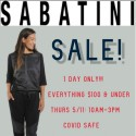 Sabatini 1 Day Sale