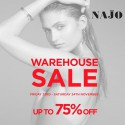 Najo Jewellery Warehouse Sale For 2 Days Only