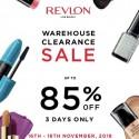 Revlon Warehouse Clearance Sale