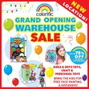 Grand Opening Toy & Craft Warehouse Sale
