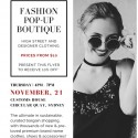 Fashion Pop Up Boutique