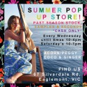 Kidswear Summer Pop Up Sale Grand Opening