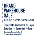 Brand Warehouse Sale