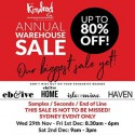 KindredCo Annual Warehouse Sale