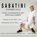 Sabatini Sydney Sale - Everything $100 and Under