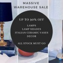 Massive Homewares Warehouse Sale Nothing Over $100