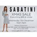 Sabatini Xmas Sale