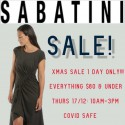 Sabatini 1 Day Xmas Sale