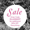 ELLA SANDERS End Of Season Online Clearance Sale