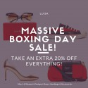 The Luisa Massive Boxing Day Sale Continues