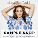 alice McCALL Sydney Sample Sale