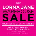 Lorna Jane Warehouse Sale - Bendigo