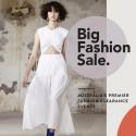 Big Fashion Sale Sydney - Over 50 Designers - Up to 80% Off