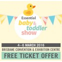 Your FREE Melbourne Essential Baby & Toddler Show Ticket!