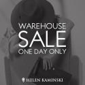 Helen Kaminski Warehouse Sale