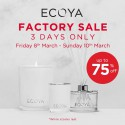 ECOYA Factory Sale - 3 days only