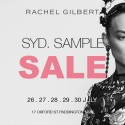 Rachel Gilbert Sydney Warehouse Sale