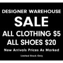 Designer Warehouse Sale - Sol Sana + From St Xavier