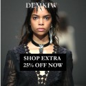 DEMKIW | WHITE SUEDE End of Season Sale