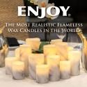 Enjoy® Flameless Wax Candles Clearance