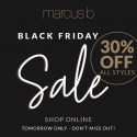 Don't miss out on Marcus B's BLACK FRIDAY SALE