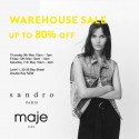 Sandro Paris + Maje Paris Warehouse Sale