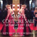 Philippa Galasso Sample Couture Sale